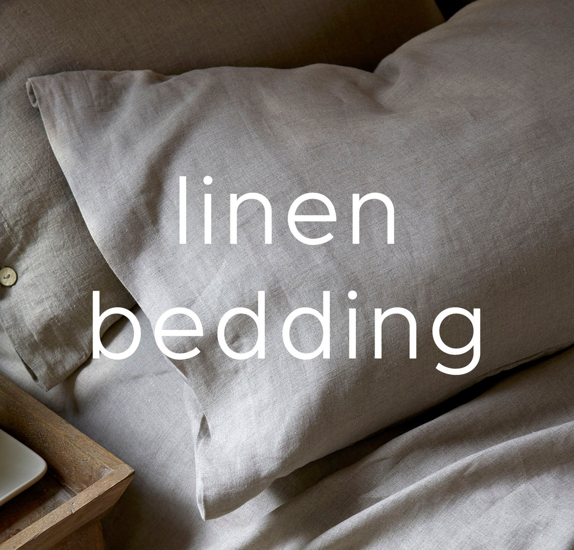 100% Linen Bedding Collection | by Rough Linen Tagged