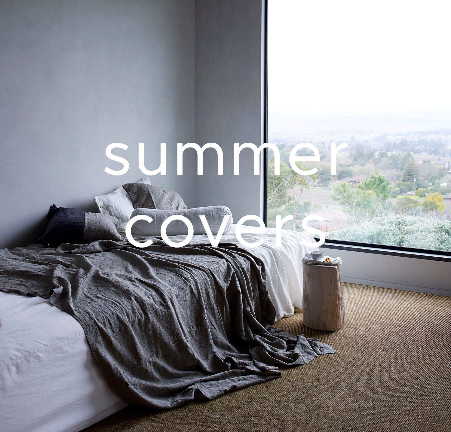 Linen Summer Covers Collection
