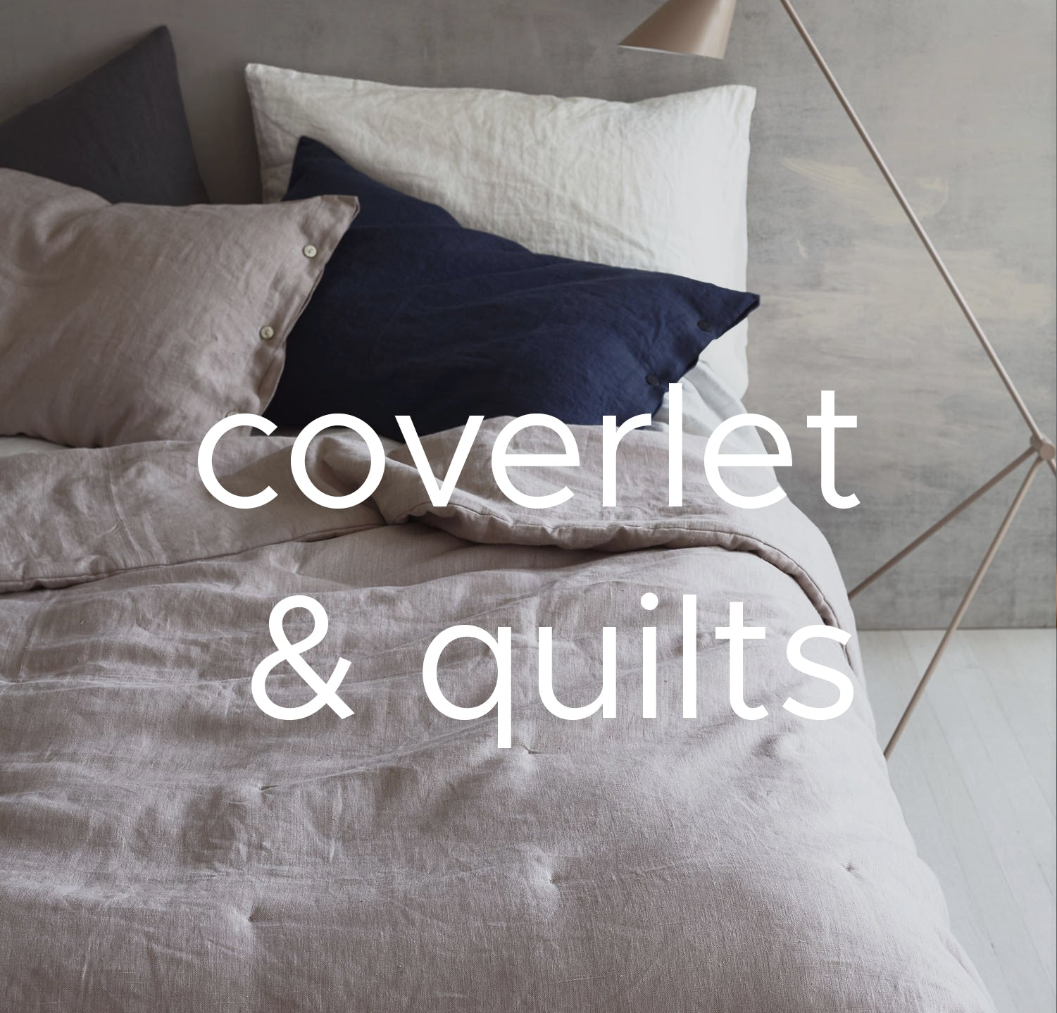 Linen Coverlets and Quilts