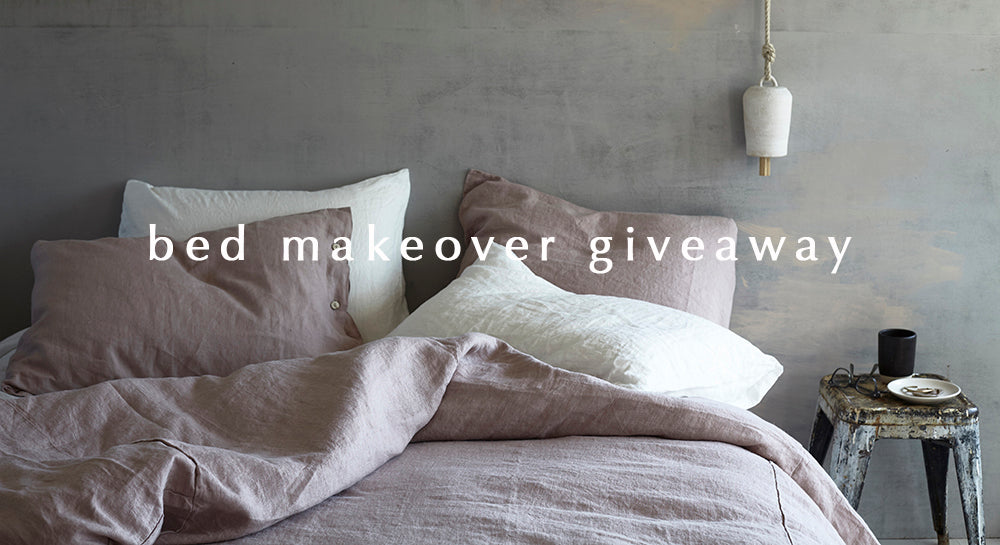 Bed Makeover Giveaway