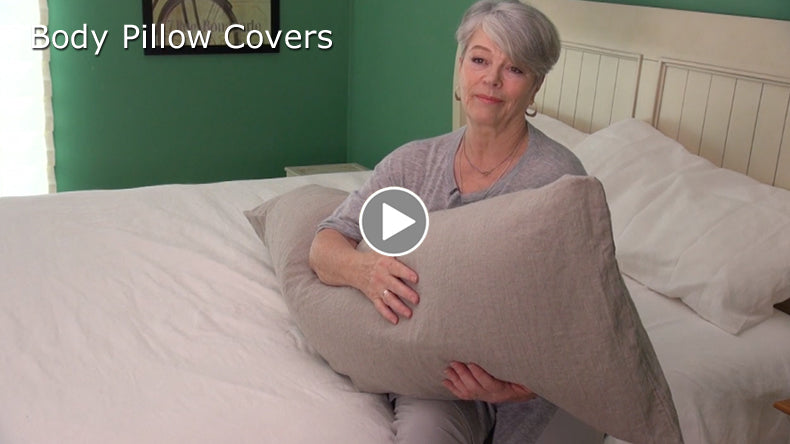 Body Pillow Covers Linen