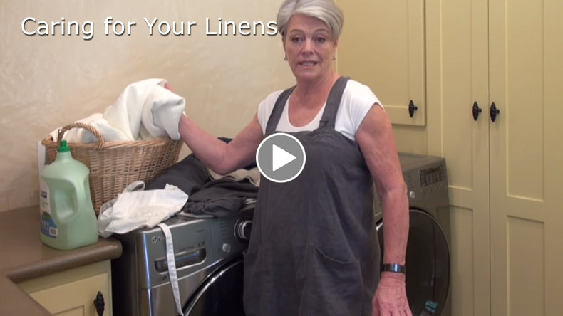 Tricia talks about how to look after your Rough Linen fabric