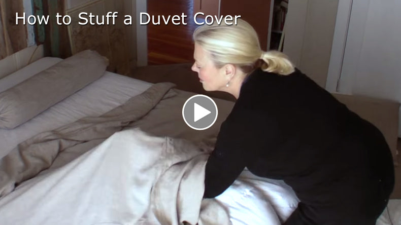 The Proper Way to Stuff a Duvet Cover