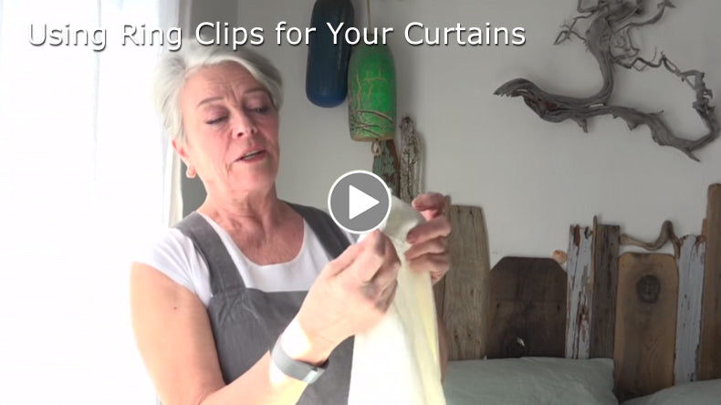 How to Use Ring Clips to Hang Your Drapes