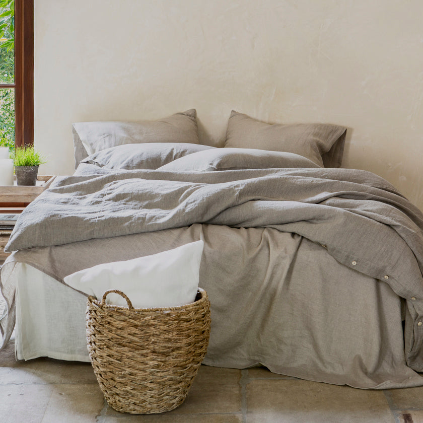 Quality, Handcrafted Linen Bedding & Home Collection | Rough