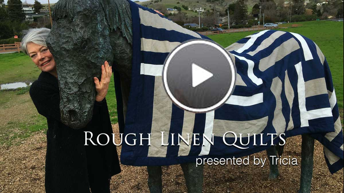Tricia talks about the origins of Rough Linen