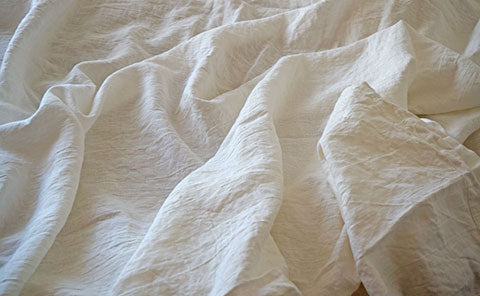 Rough Linen Orkney white summer cover