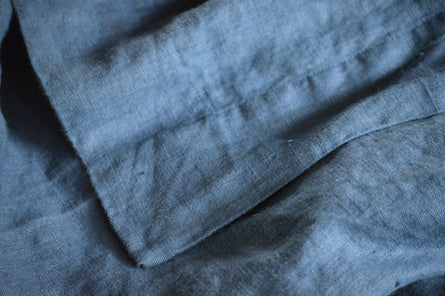 Orkney indigo summer cover and pillow slip