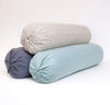 St. Barts Linen Bolster Pillow Cover