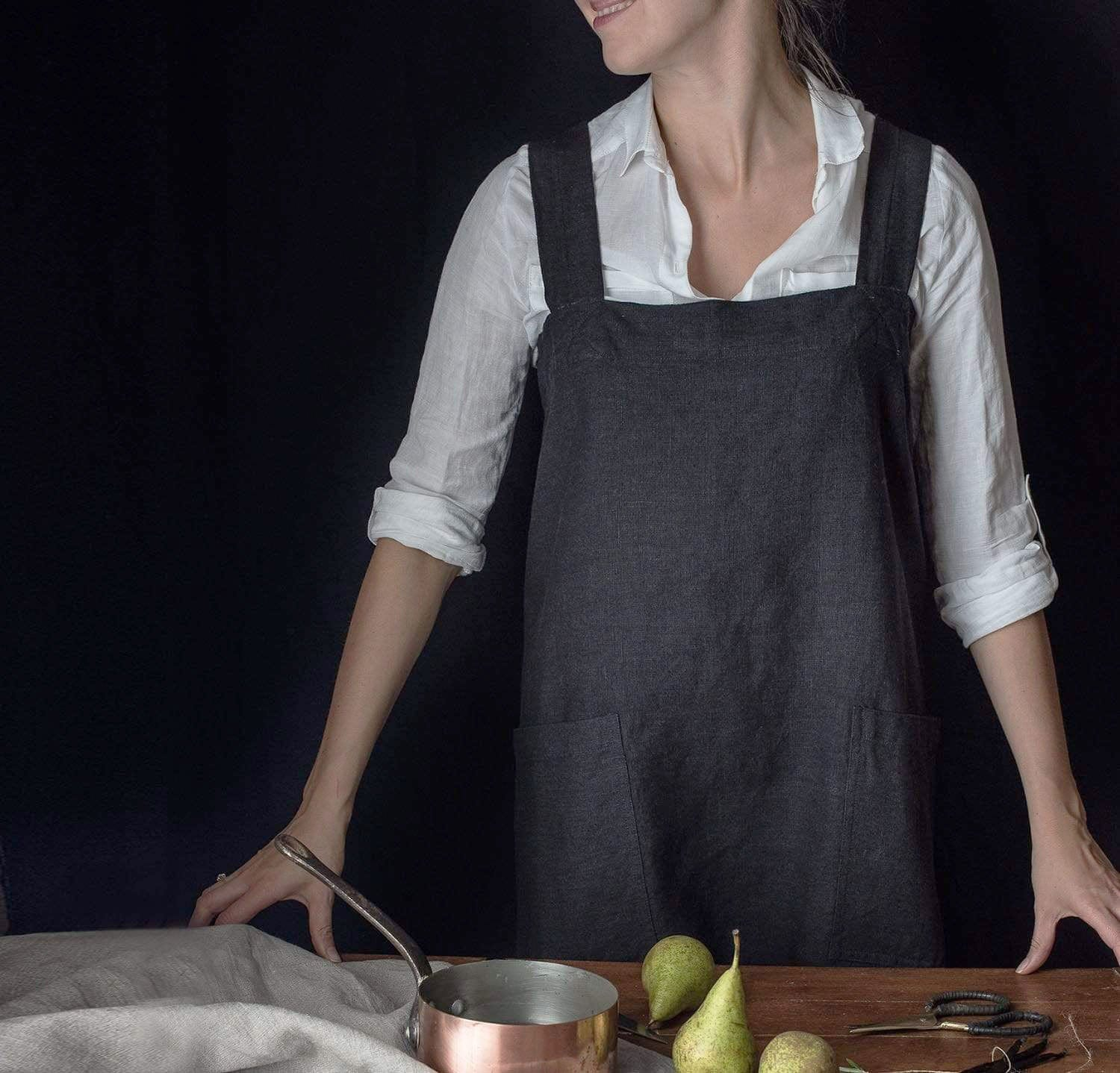 The Original Linen Pinafore-Apron