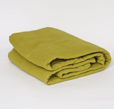 Light Linen Coverlet