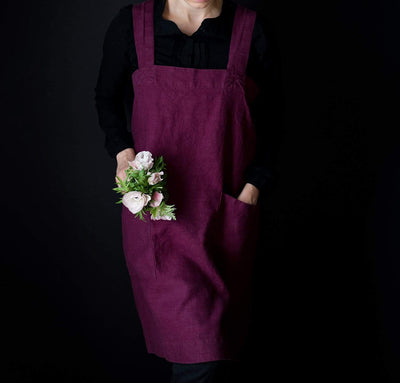 Limited Edition Original Linen Pinafore-Apron