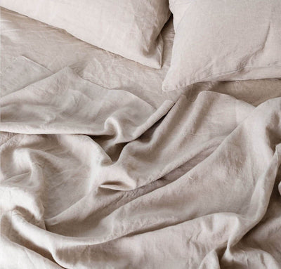 Smooth Linen Sheet Set