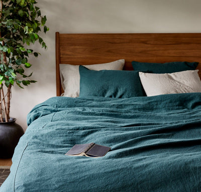 Limited Edition Orkney Linen Duvet Cover
