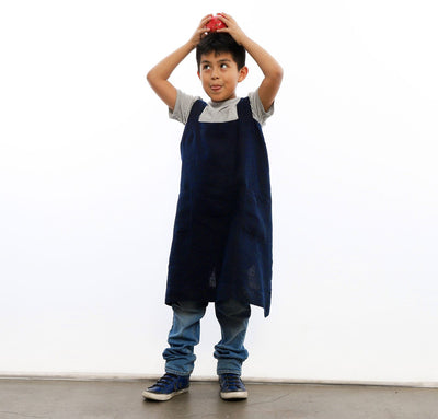 Child's Linen Pinafore-Apron