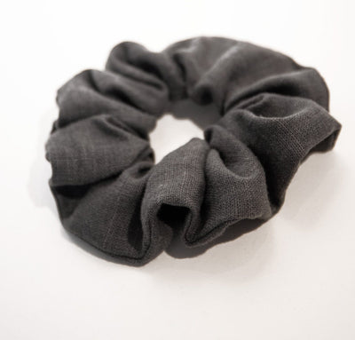 Linen Hair Scrunchies (Set of 3)