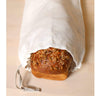 bread inside 100% linen bread bag heavyweight Orkney fabric off-white color
