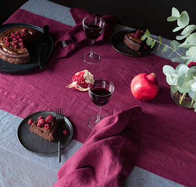Limited Edition Orkney Linen Table Runner