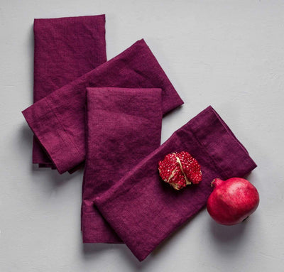 Limited Edition Orkney Linen Napkin Set