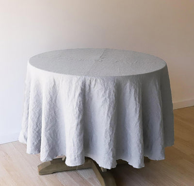 Orkney Linen Round Tablecloth