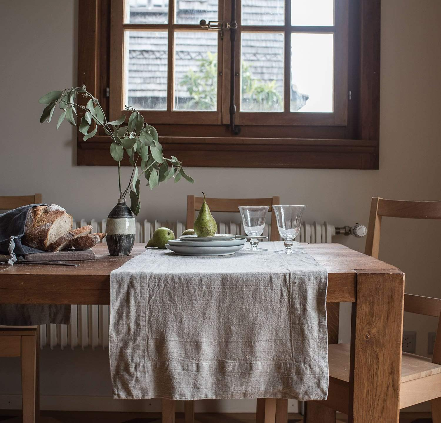 Best Linen Table Runner By Rough Linen