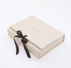 Rough Linen gift box