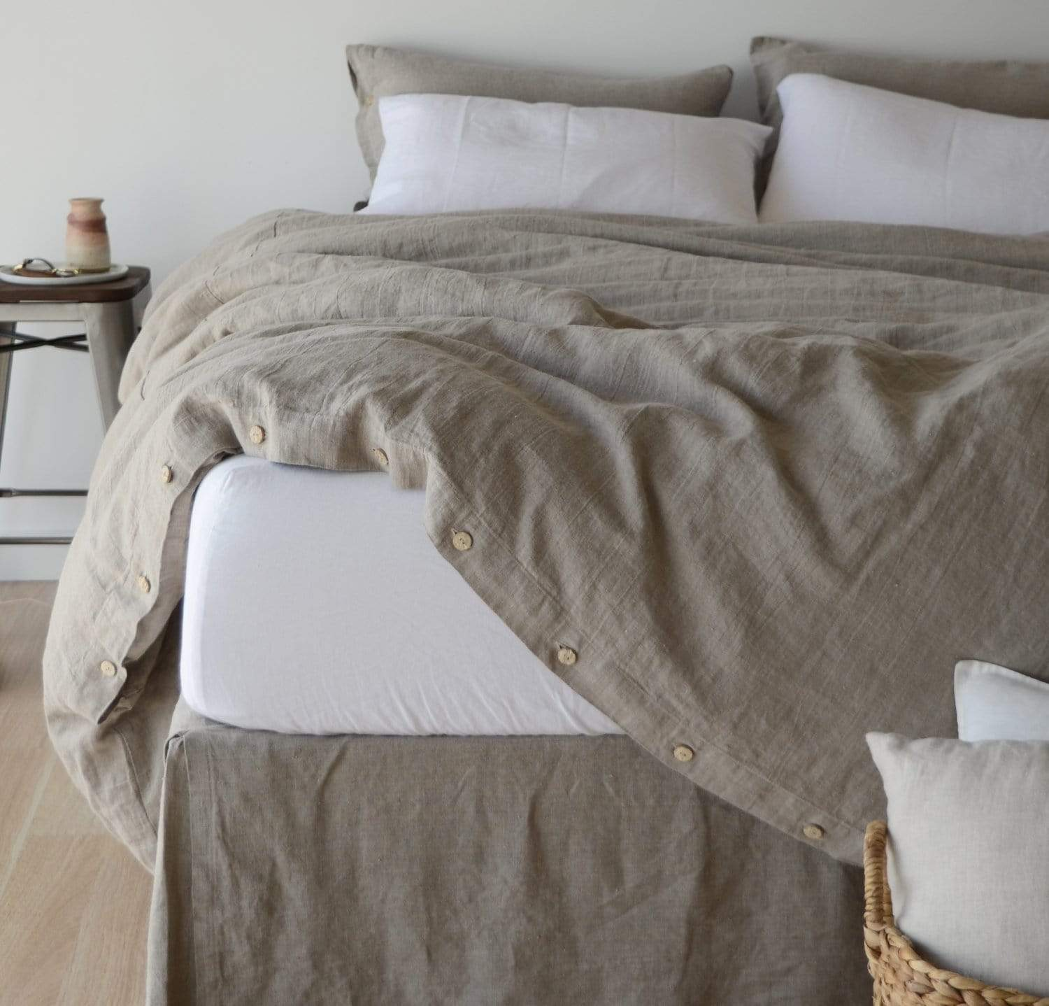 - Best Linen Fitted Sheets By Rough Linen