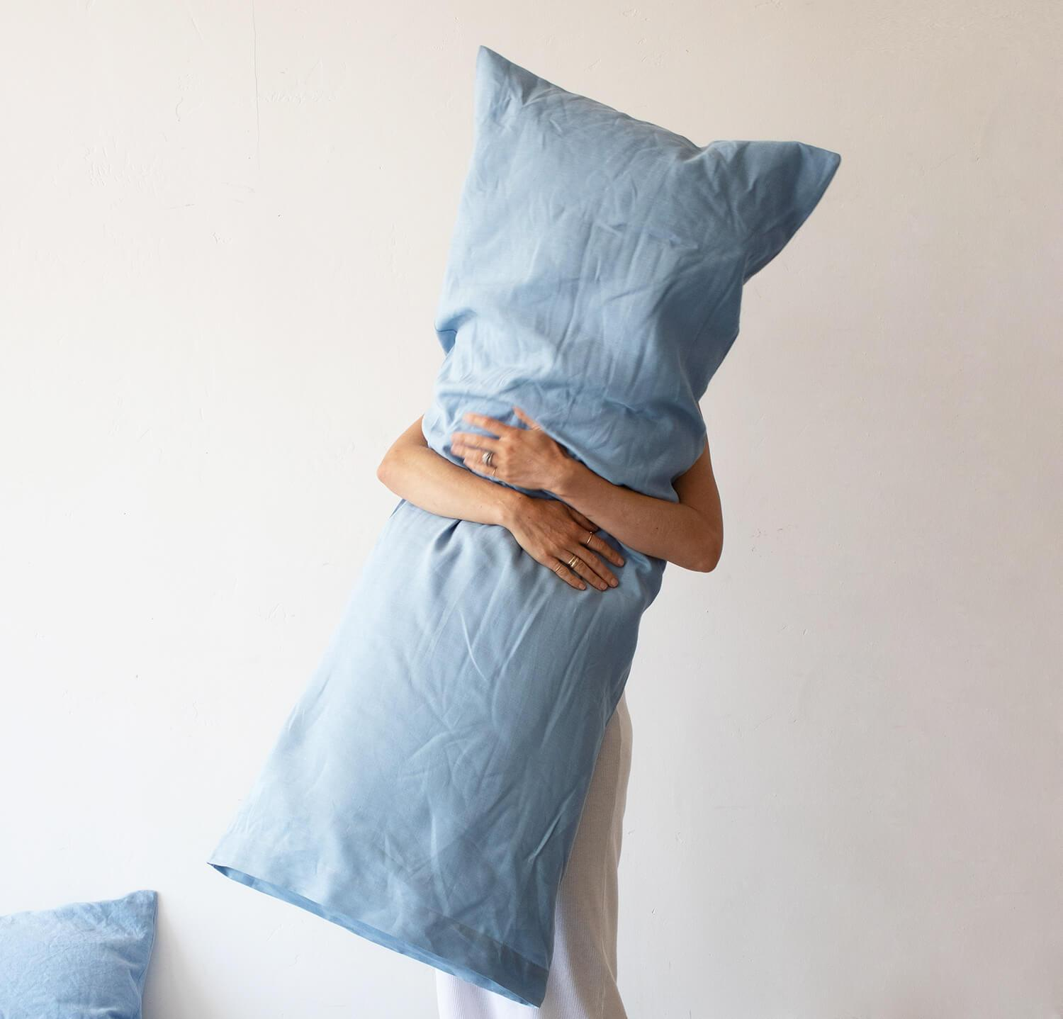 Smooth Linen Body Pillow Cover