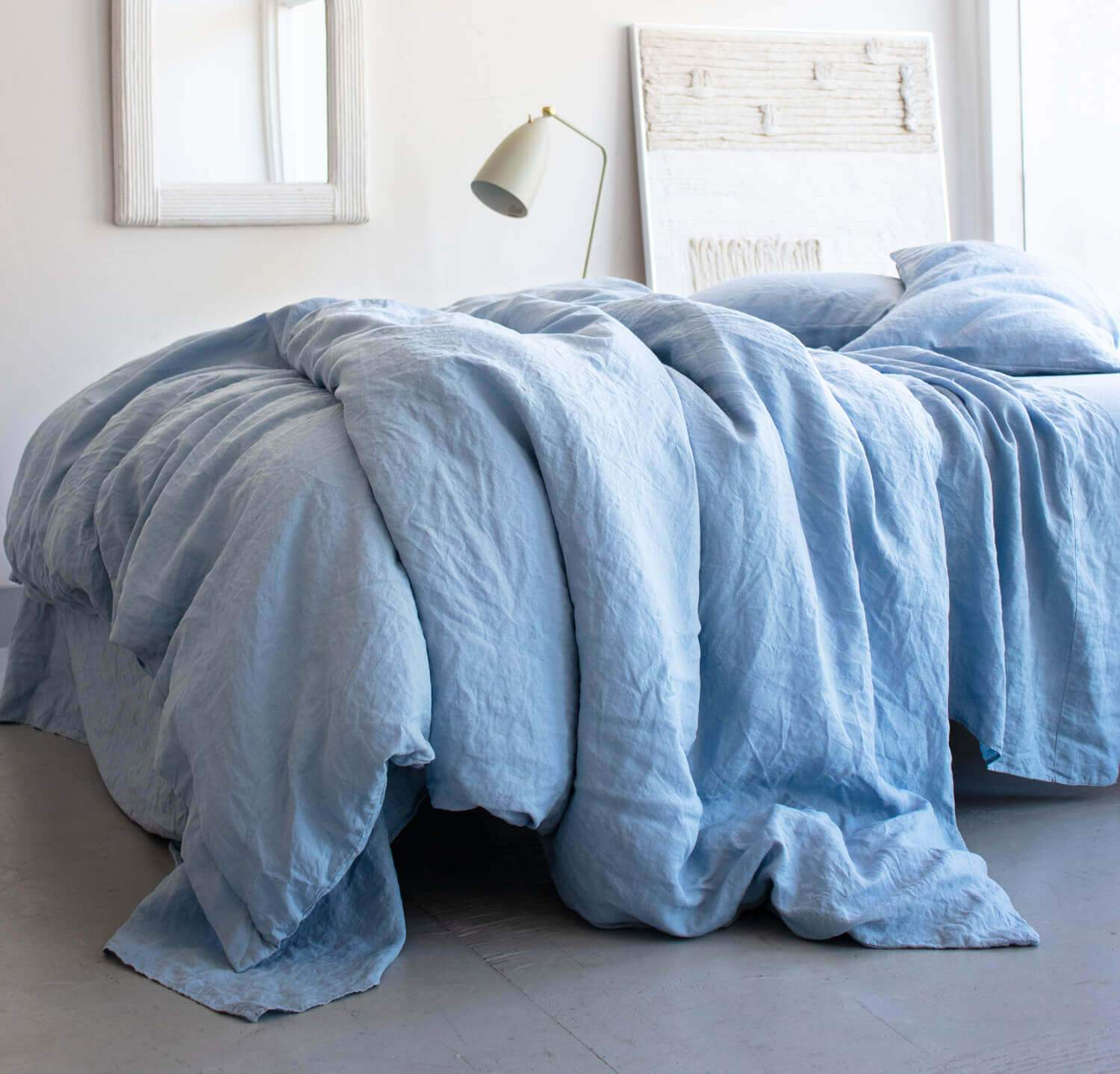 Smooth Linen Duvet Cover