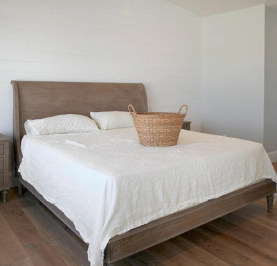 Smooth Linen Summer Bed