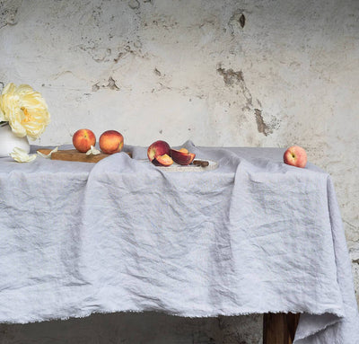 Smooth Linen Tablecloth