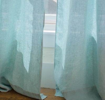 St. Barts Linen Solid Curtain