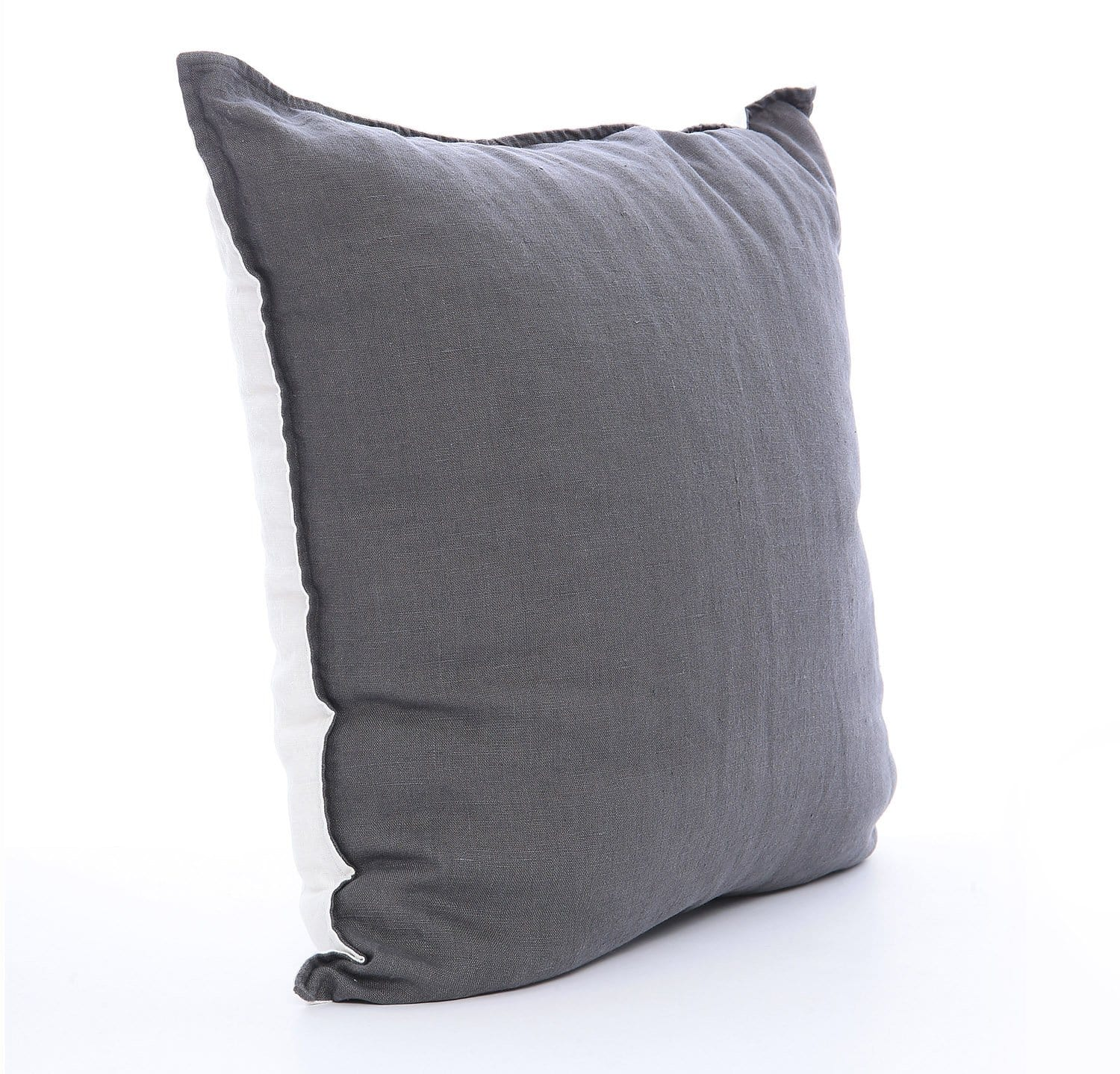 Picture of: Best Linen Throw Pillow Cover Two Tone By Rough Linen