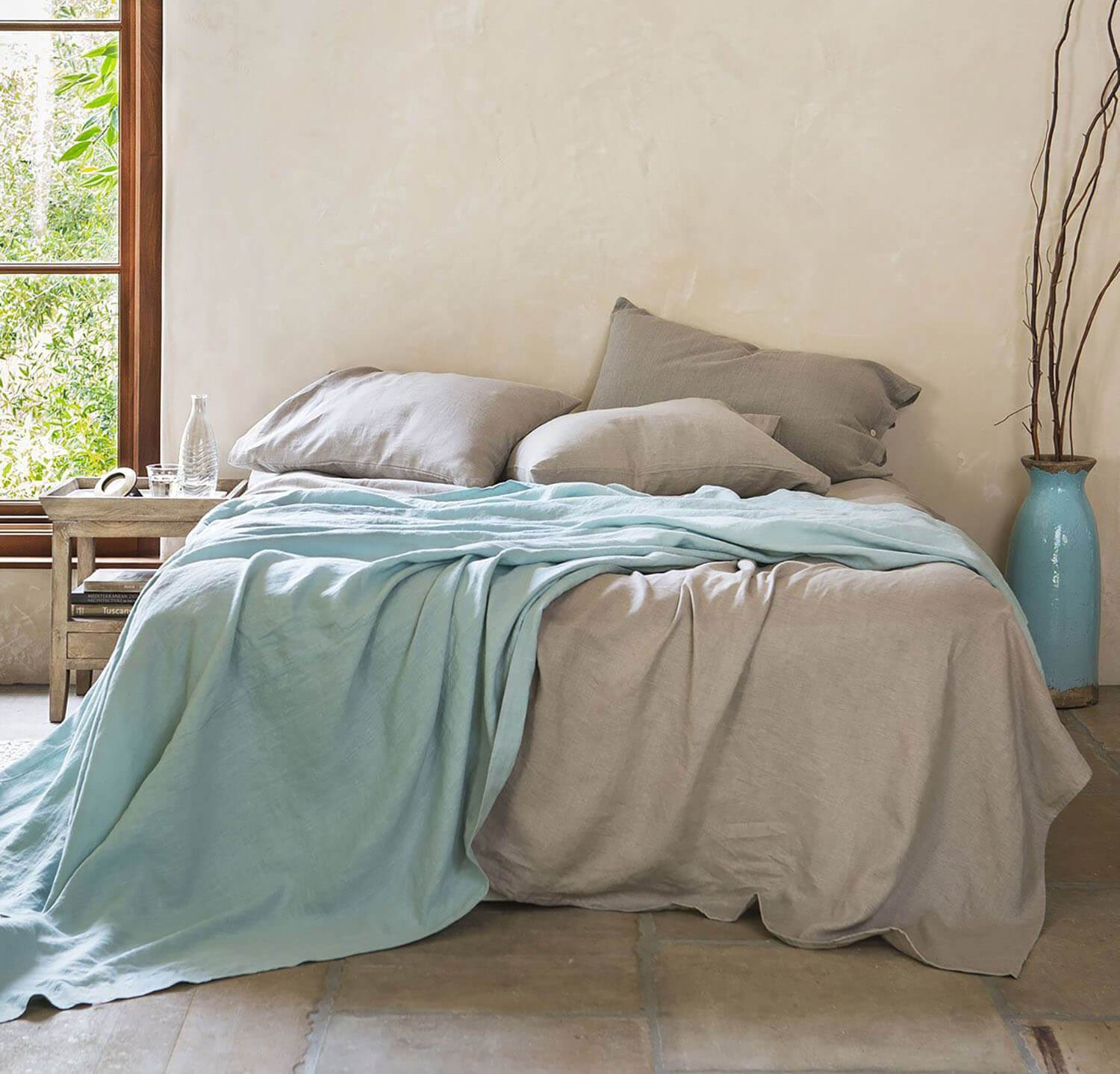 Picture of: Best Linen Summer Bed By Rough Linen
