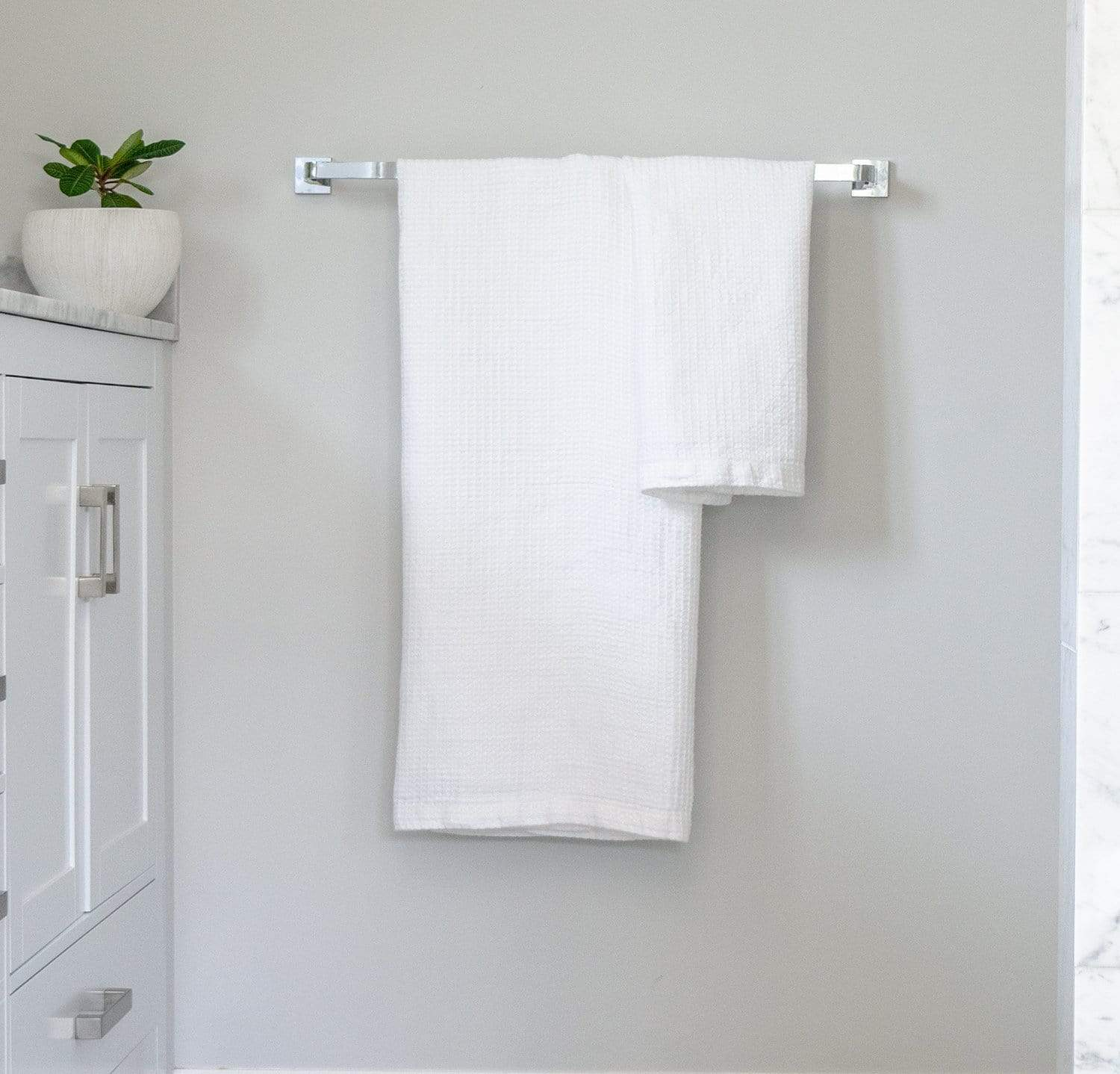 Best Linen Waffle Bath Towel By Rough Linen