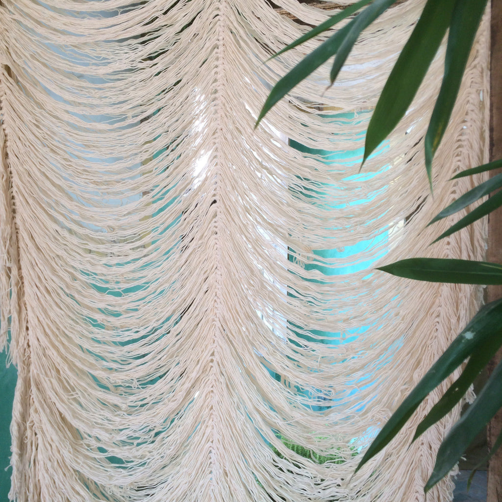 Medium Hand Knotted Curtain