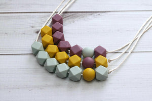 Getting Sew Crafty - Silicone Teething Necklace