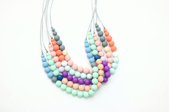 Getting Sew Crafty - Silicone Teething Necklace Teether