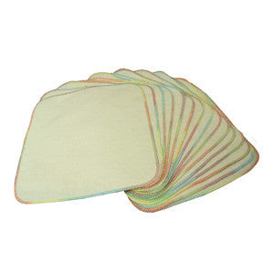 Unbleached Flannel Wipes