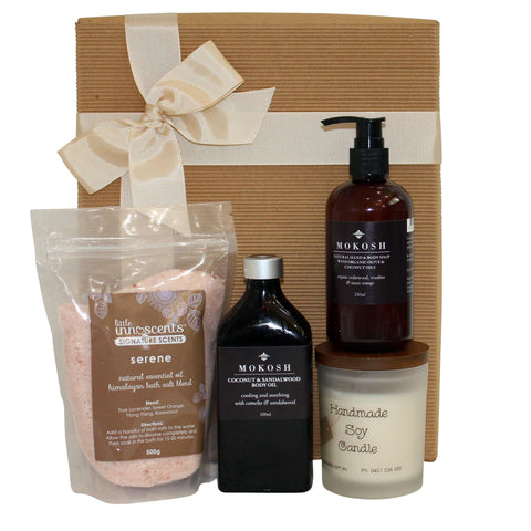 Bathtime Bliss Gift For Her - Naturally Gifted