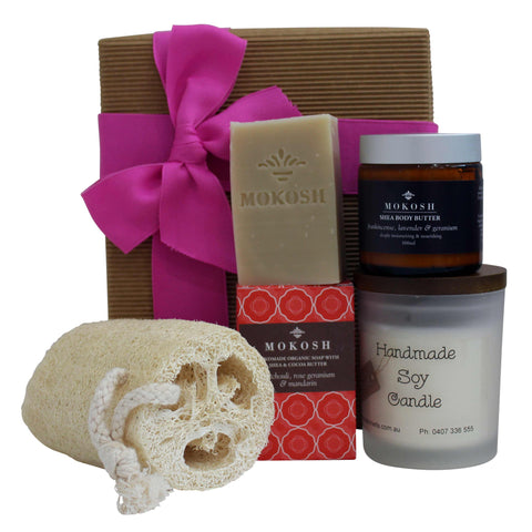 Body Beautiful Organic Gift Hamper - Naturally Gifted