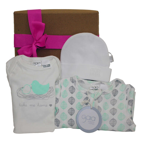 Bouncing Baby Girl Gift Hamper - Naturally Gifted - 1