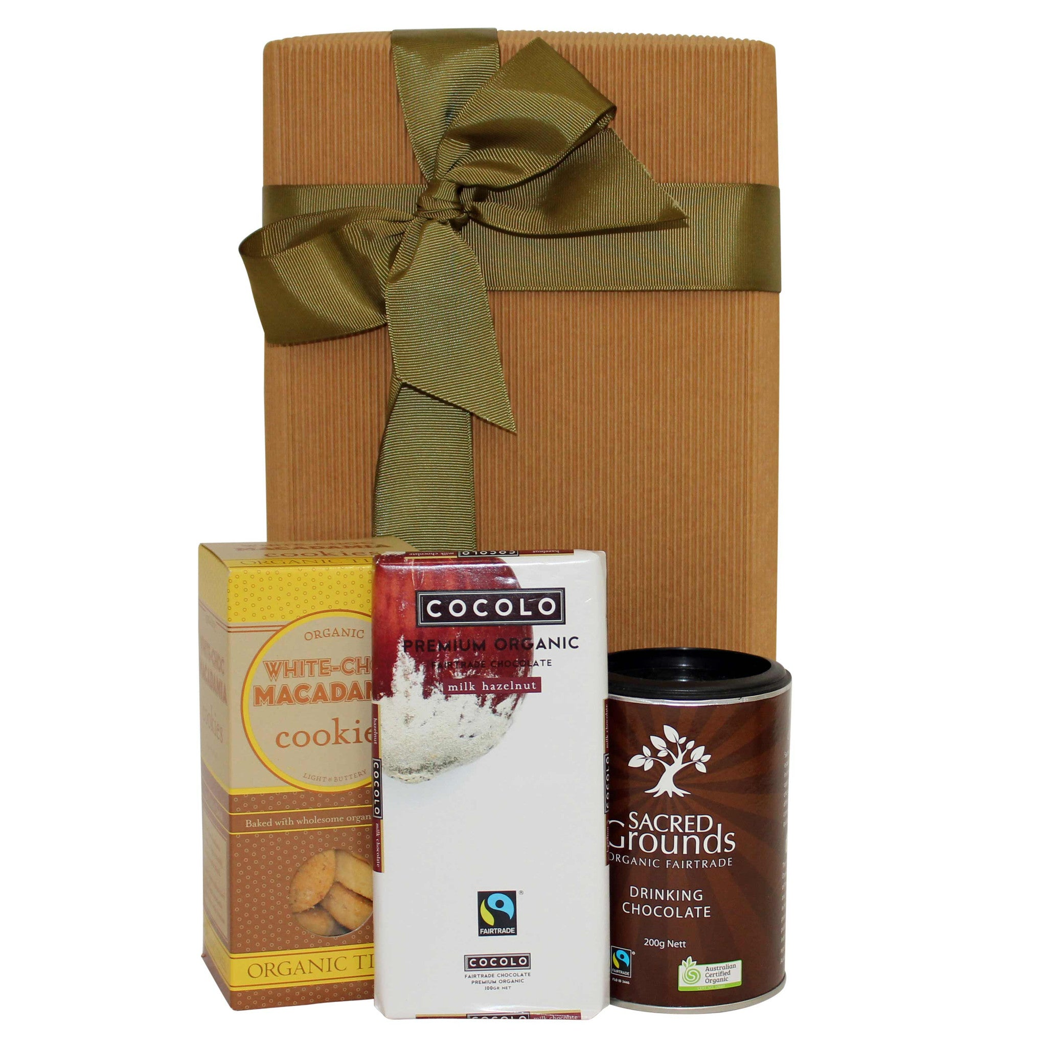 Chocolate Afternoon Tea Hamper - Naturally Gifted