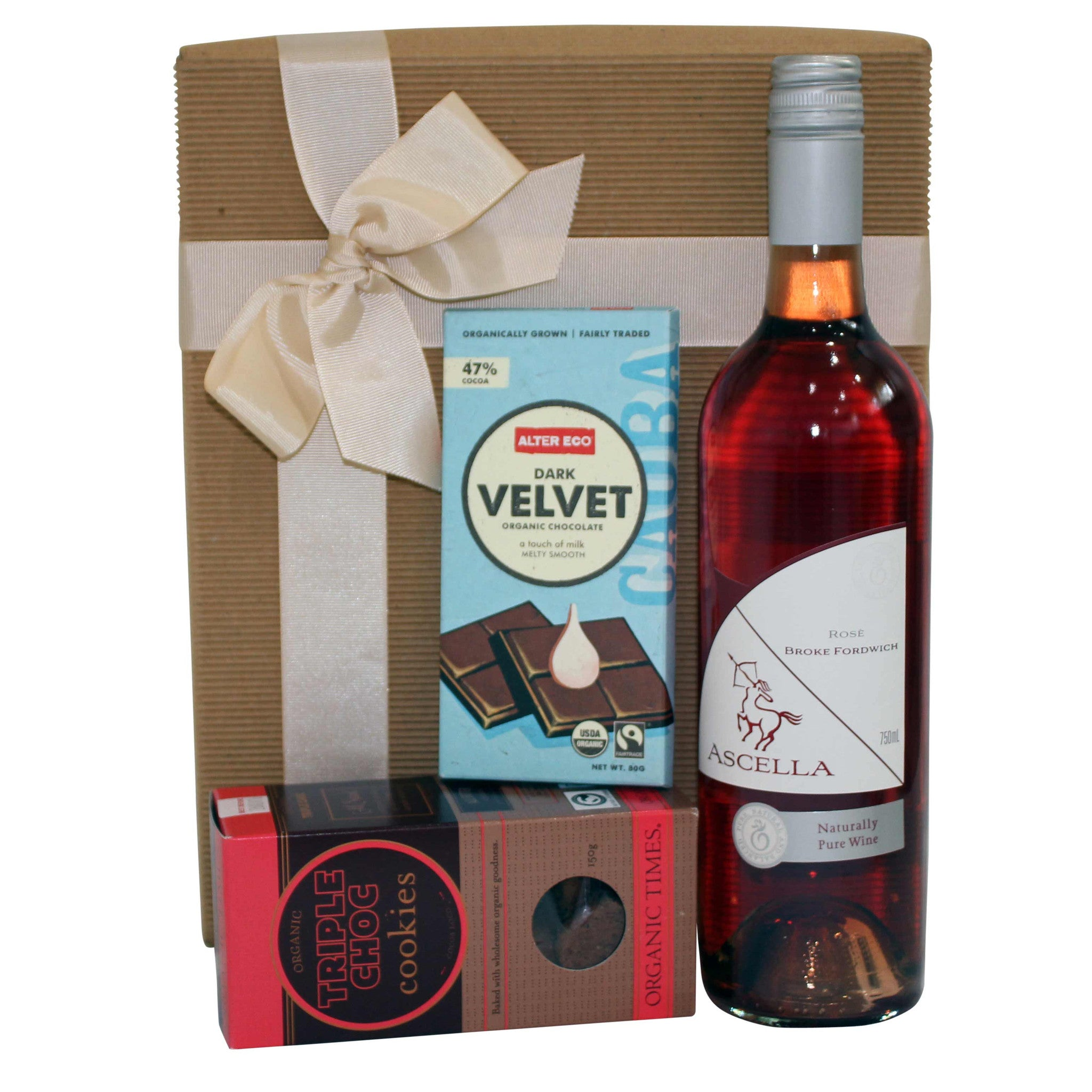 Dark Chocolate Lovers Gift Hamper - Naturally Gifted