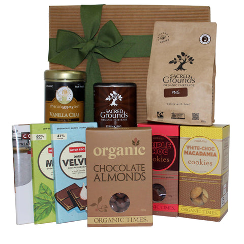 Fairtrade Chocolate Gift Hamper - Naturally Gifted