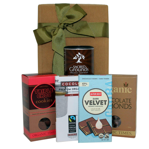 Naturally Divine Chocolate Gift Hamper - Naturally Gifted