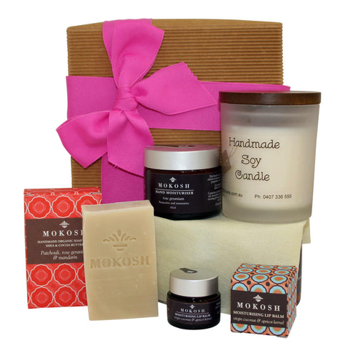 Pamper Gift Hamper - Naturally Gifted