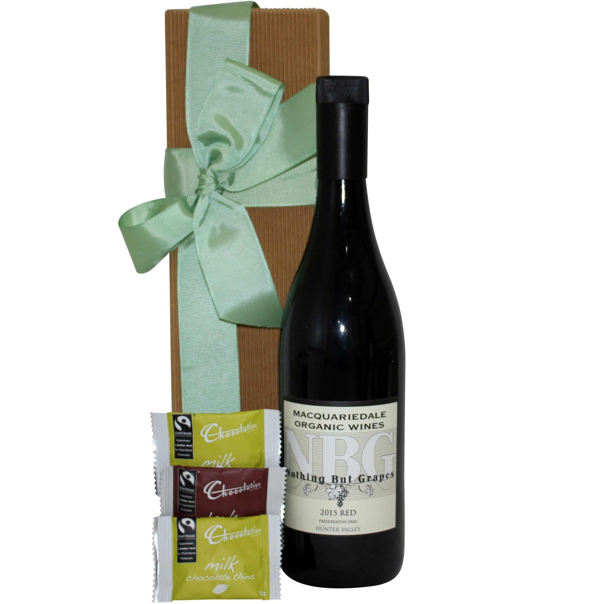 Red Wine and Chocolate Hamper - Naturally Gifted