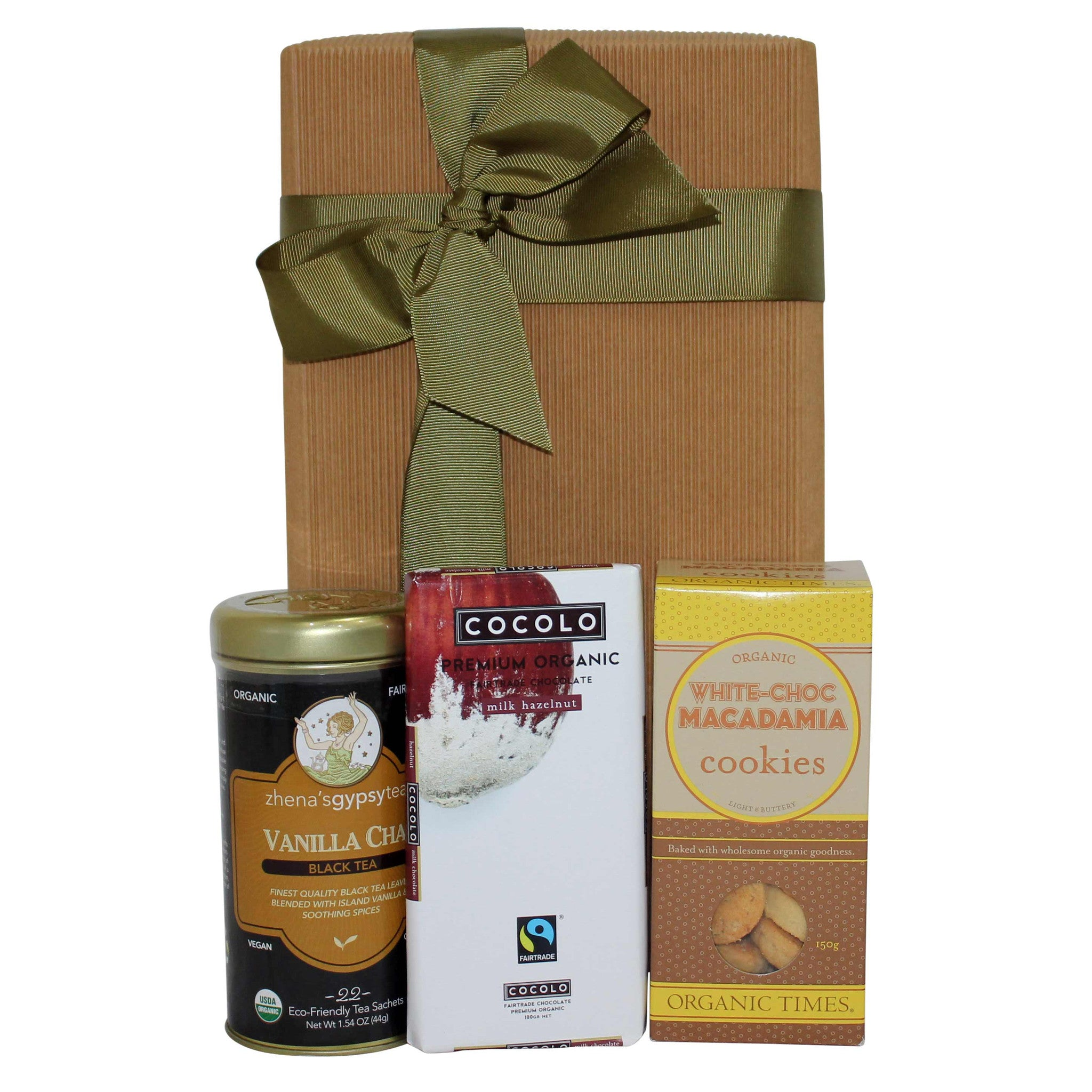 Tea And Chocolate Surprise Gift Box - Naturally Gifted