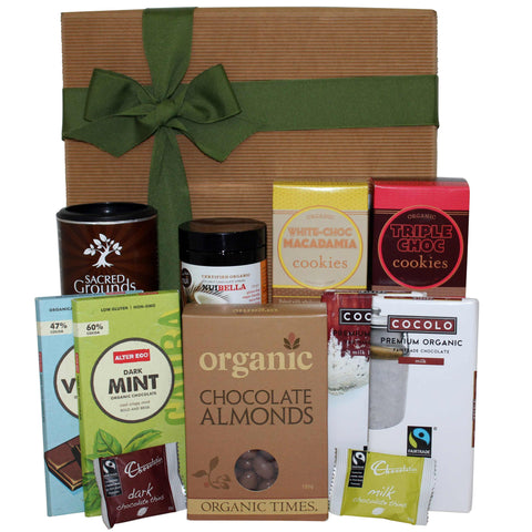The Complete Organic Chocolate Gift Hamper - Naturally Gifted